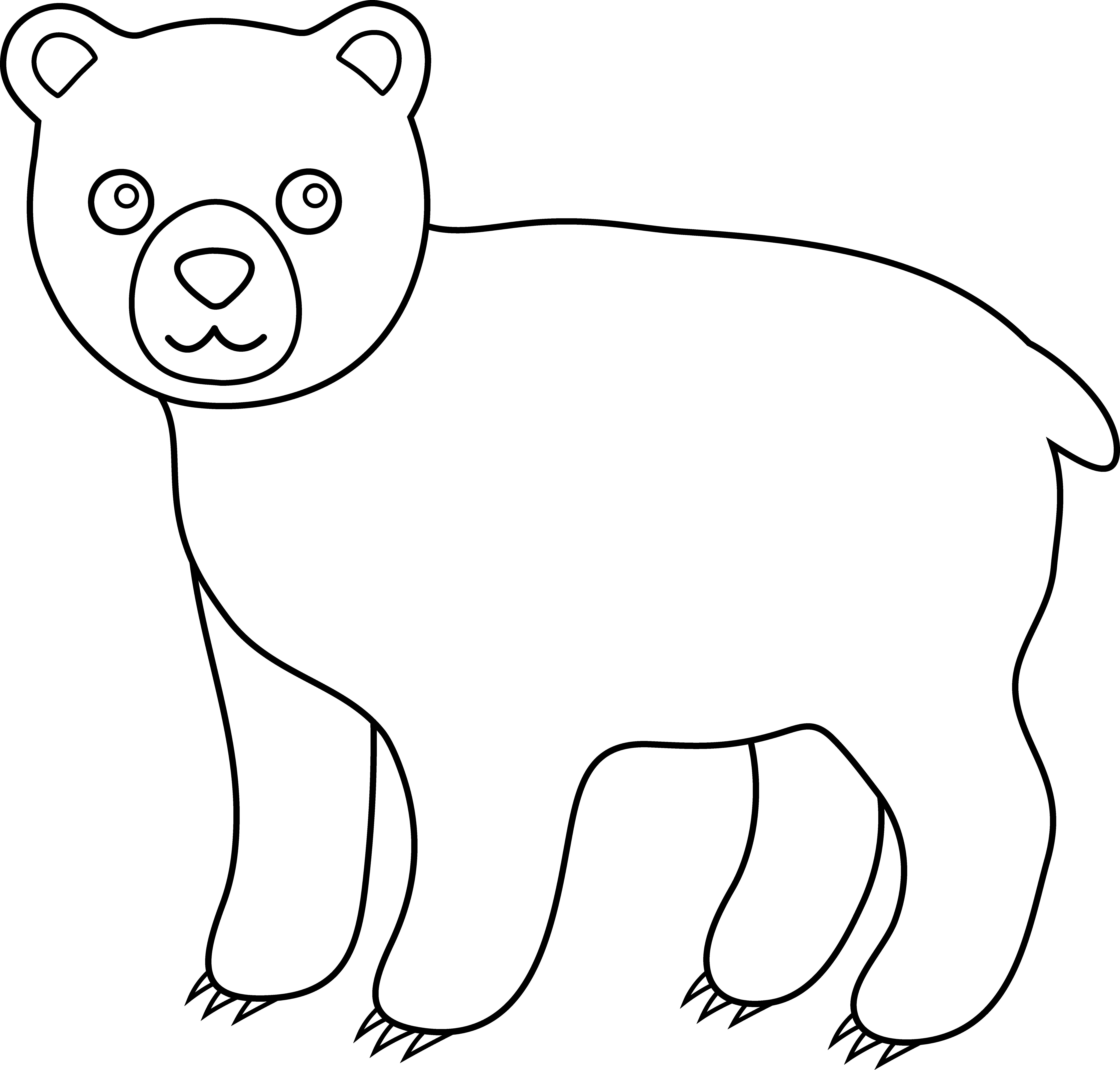 Line Art Animals : Line art animals cliparts
