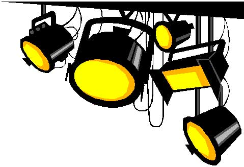 Stage Lights Clipart - Cliparts.co