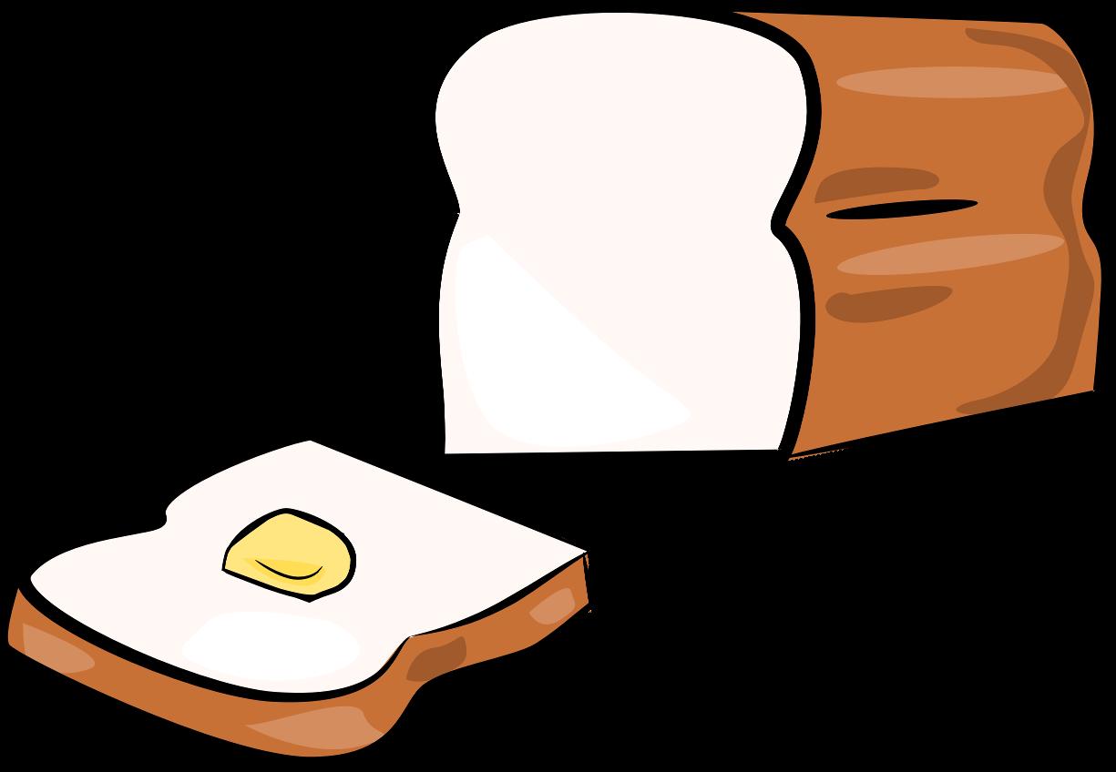 Slice Of Bread Clipart - Cliparts.co