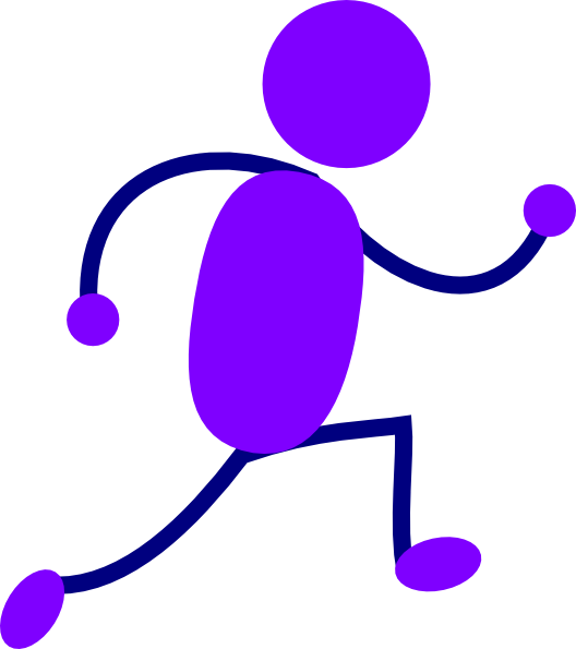 Person Running Clipart - Cliparts.co
