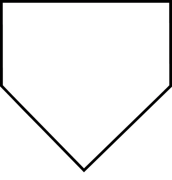 baseball field coloring pages printable - baseball diamond printable