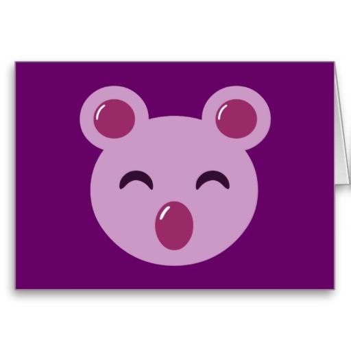 Sweet Koala Cards, Sweet Koala Card Templates, Postage ...