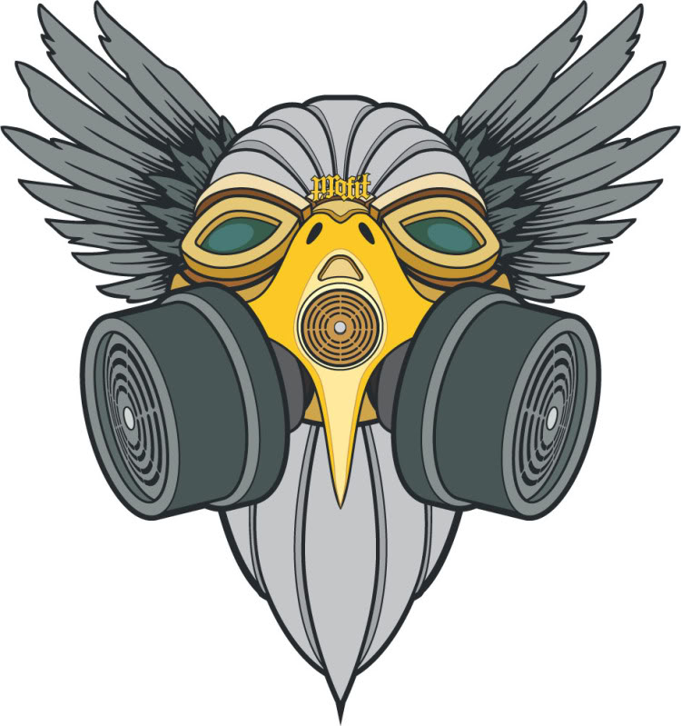 Eagle G.A.S. Mask | THE OFFICIAL SITE OF FREEHAND PROFIT