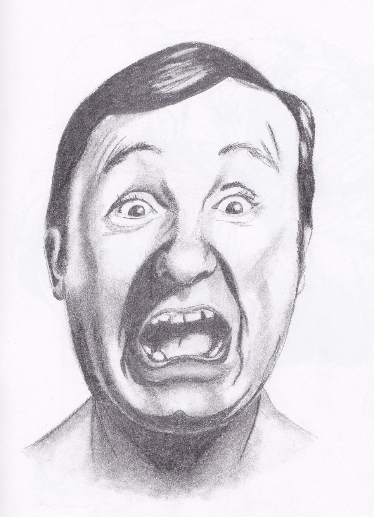 Scared Face Line Drawing : Scared faces cliparts
