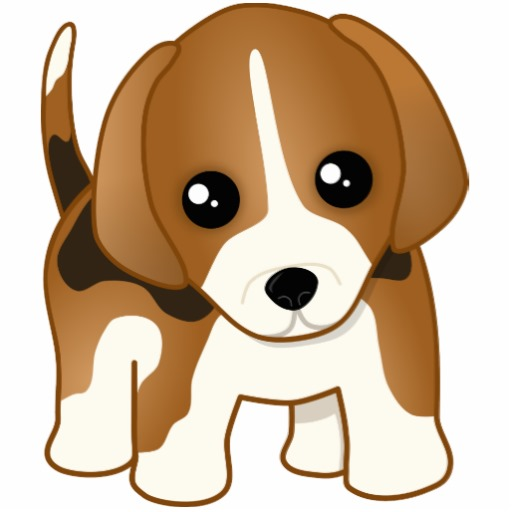 Sad Cute Cartoon Puppies - Cliparts.co