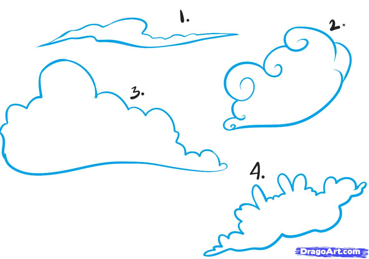 Clouds Draw Cliparts Co