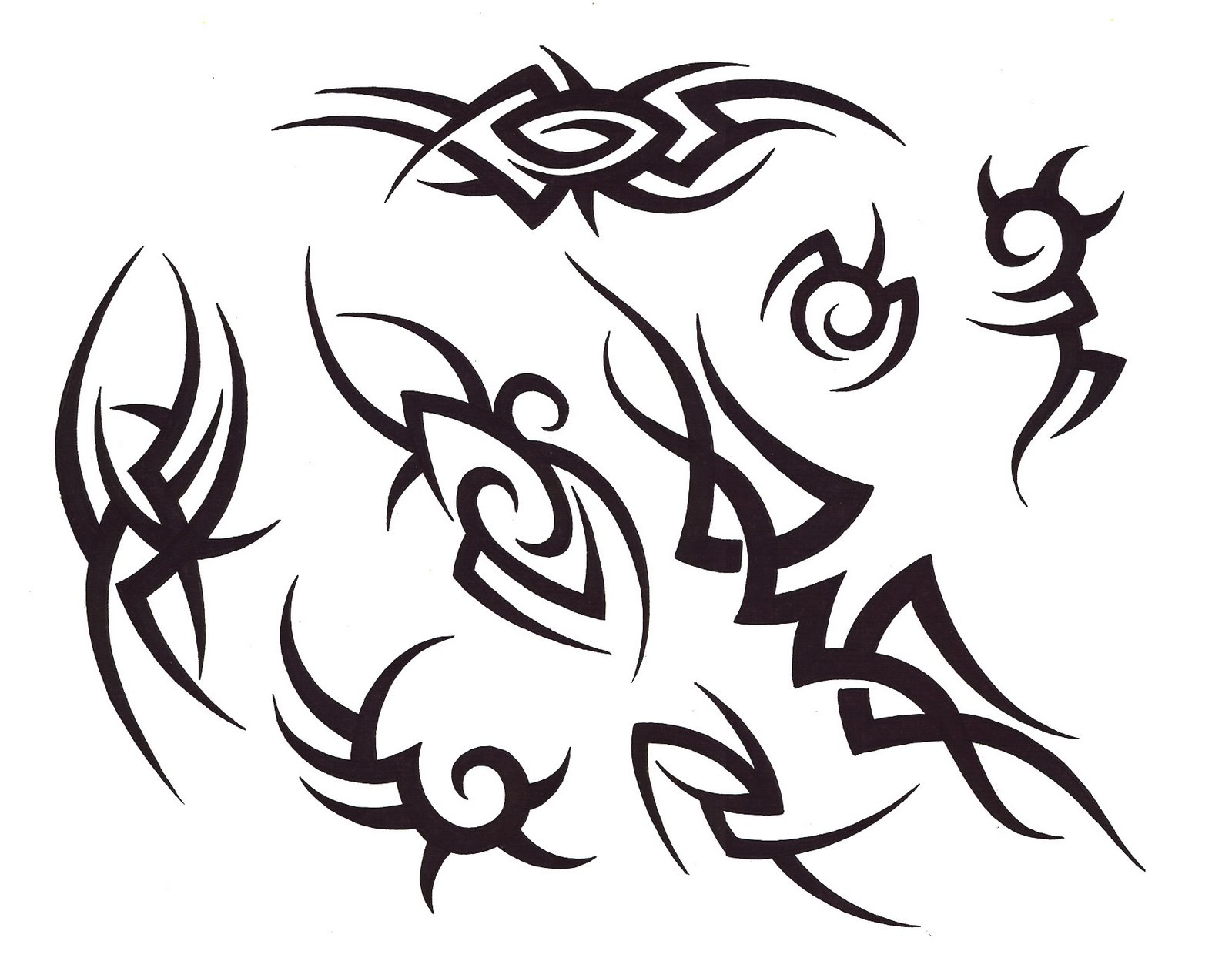 Tribal Tattoo Designs - Female Tattoo Designs