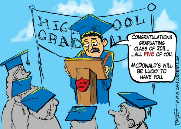 High School Graduation 2011 Cartoon ❤ Cartoon