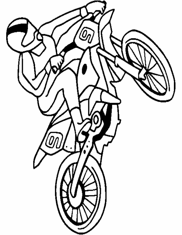 Cartoon Dirt Bike Pictures - Cliparts.co