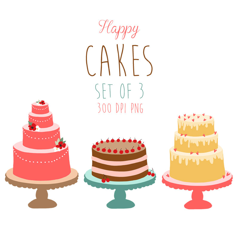 Free Clipart Cake Stand : Image Of Cakes - Cliparts.co