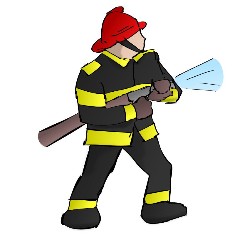 Edo Firefighters (03/09) Clip Art Download