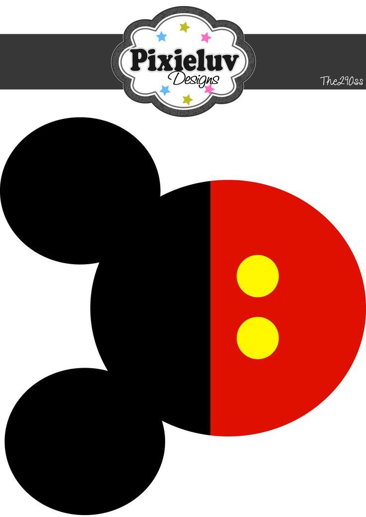 Mickey Mouse Birthday Banner Free Printables | FollowPics