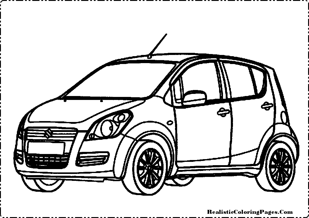 my cars coloring pages - photo#30