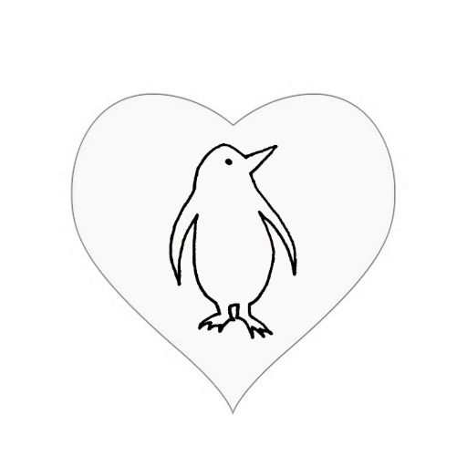 Simple Heart Line Art : Simple heart drawing cliparts