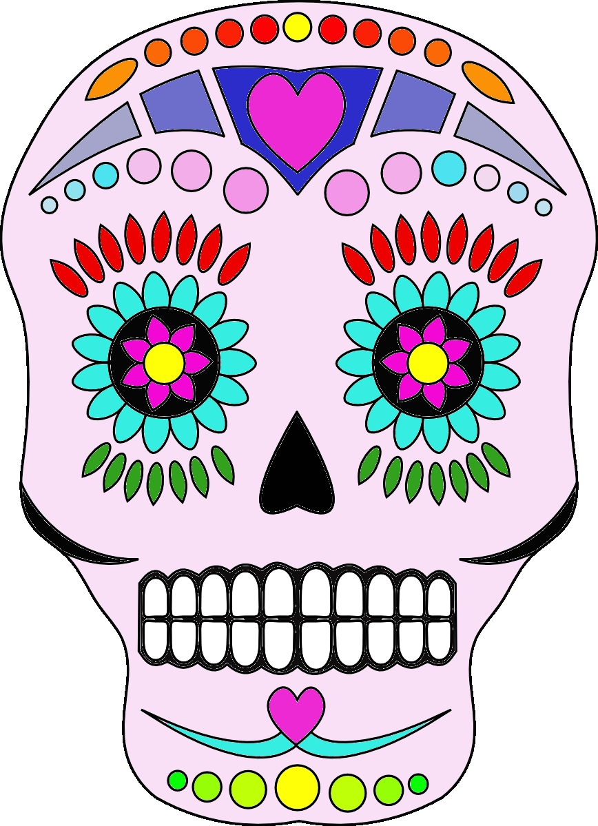Day Of The Dead Clipart - Cliparts.co