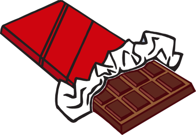 Chocolate Bar Clipart - Cliparts.co