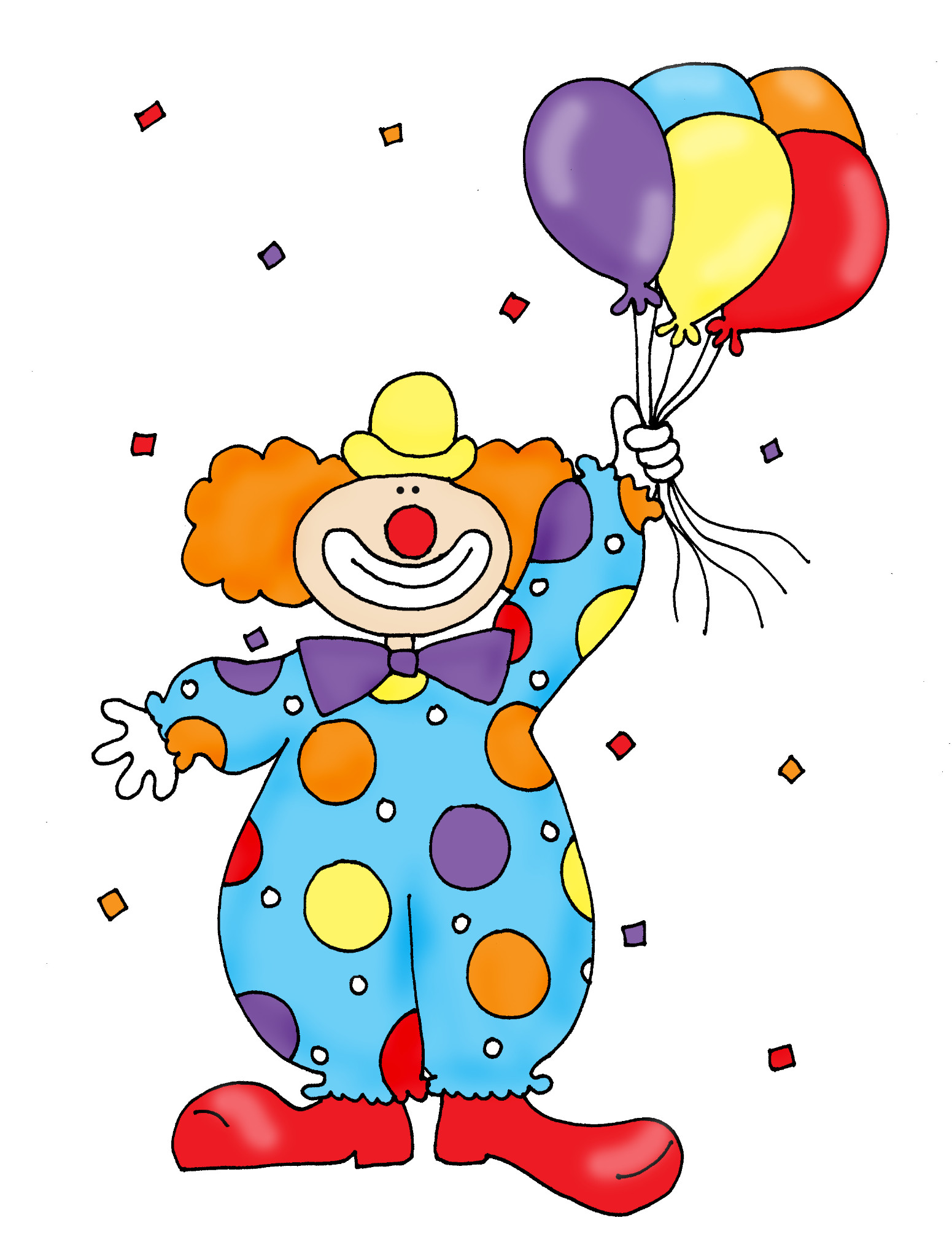 Happy Clowns Pictures - Cliparts.co