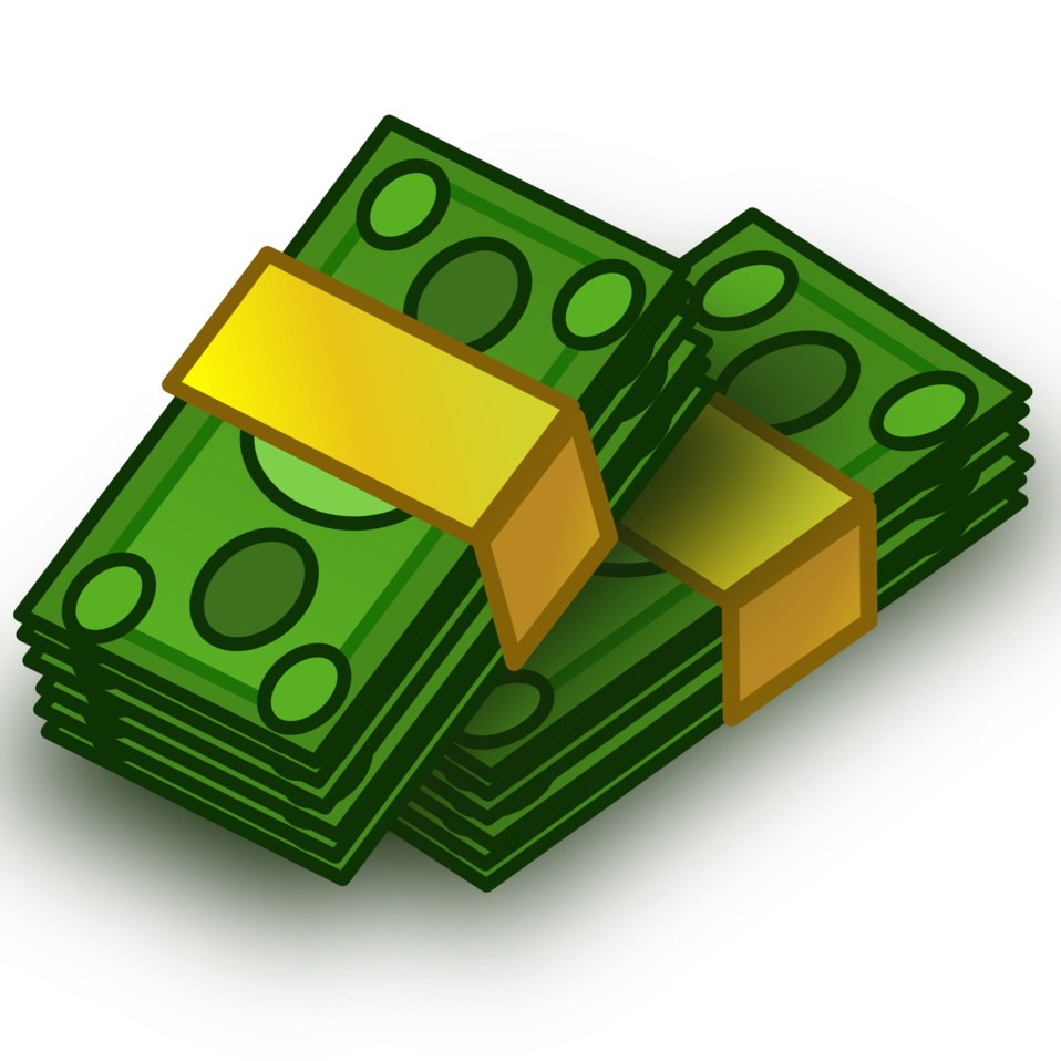 stack of money clipart rh worldartsme com Money Bag Clip Art Money Bag Clip Art