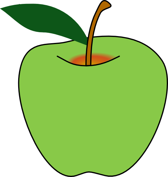clipart apple pages - photo #16
