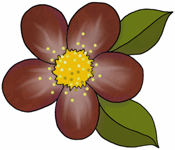 ArtbyJean - Paper Crafts: FLOWER CLIPART - Set A15 - Aboriginal ...