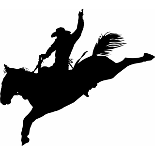 rodeo silhouette clip art | Clipart Panda - Free Clipart Images