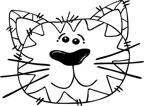 Cat Cartoon Drawings - ClipArt Best