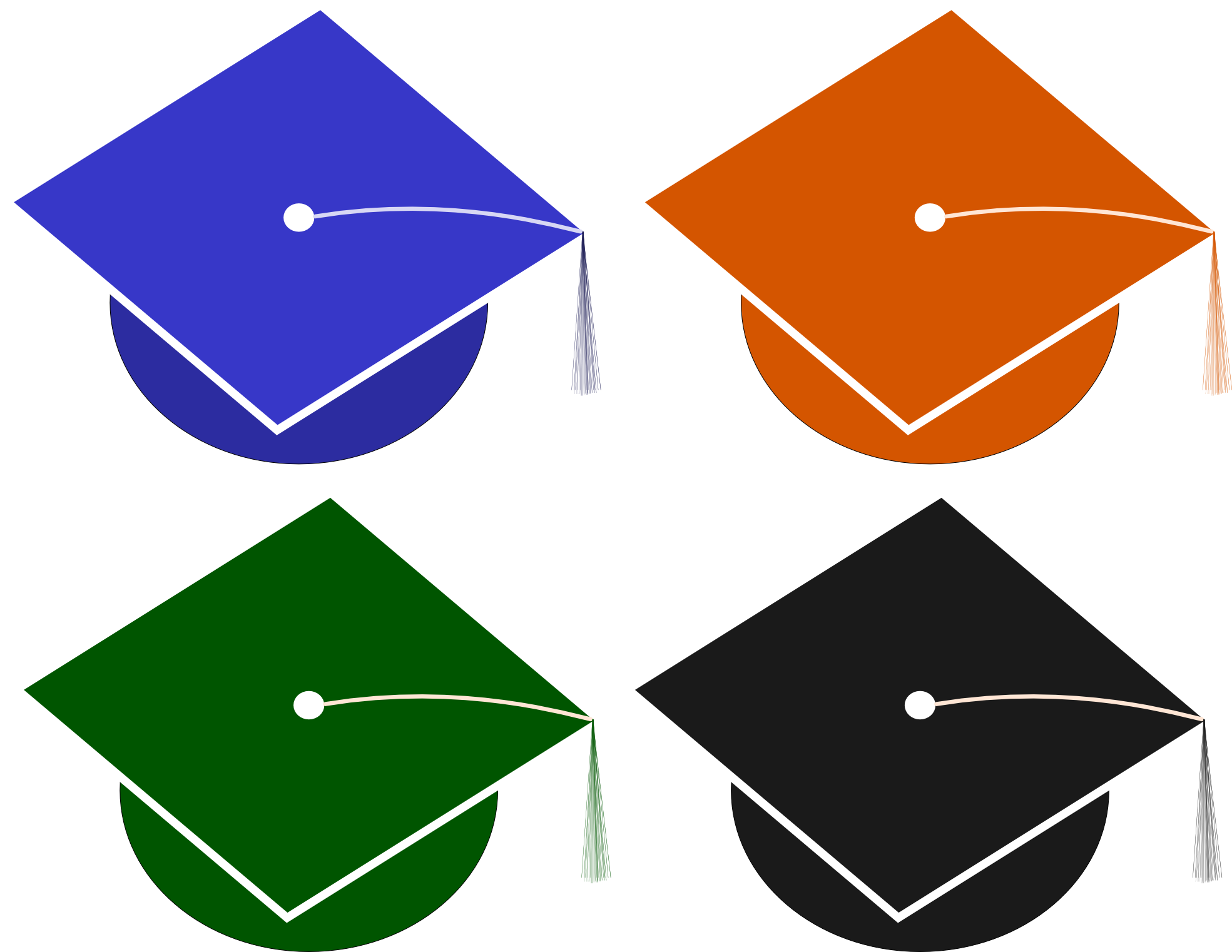 Graduation Hat Mortor Board Tassel - ClipArt Best - ClipArt Best