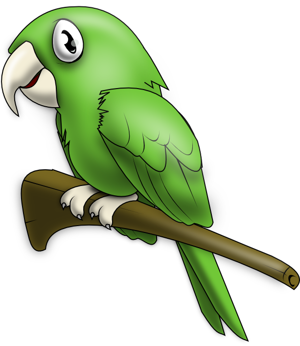 Free to Use & Public Domain Parrot Clip Art