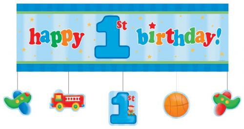 Happy Birthday Signs For Boys - Cliparts.co
