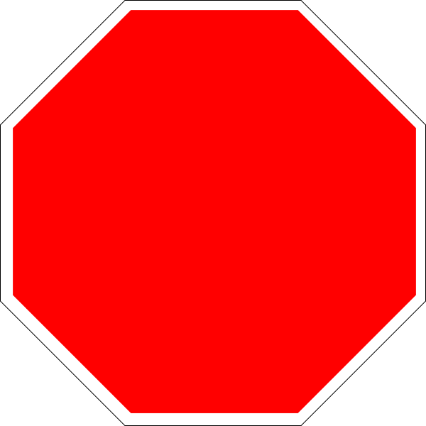 Blank street sign template clipartsco for Stop sign template
