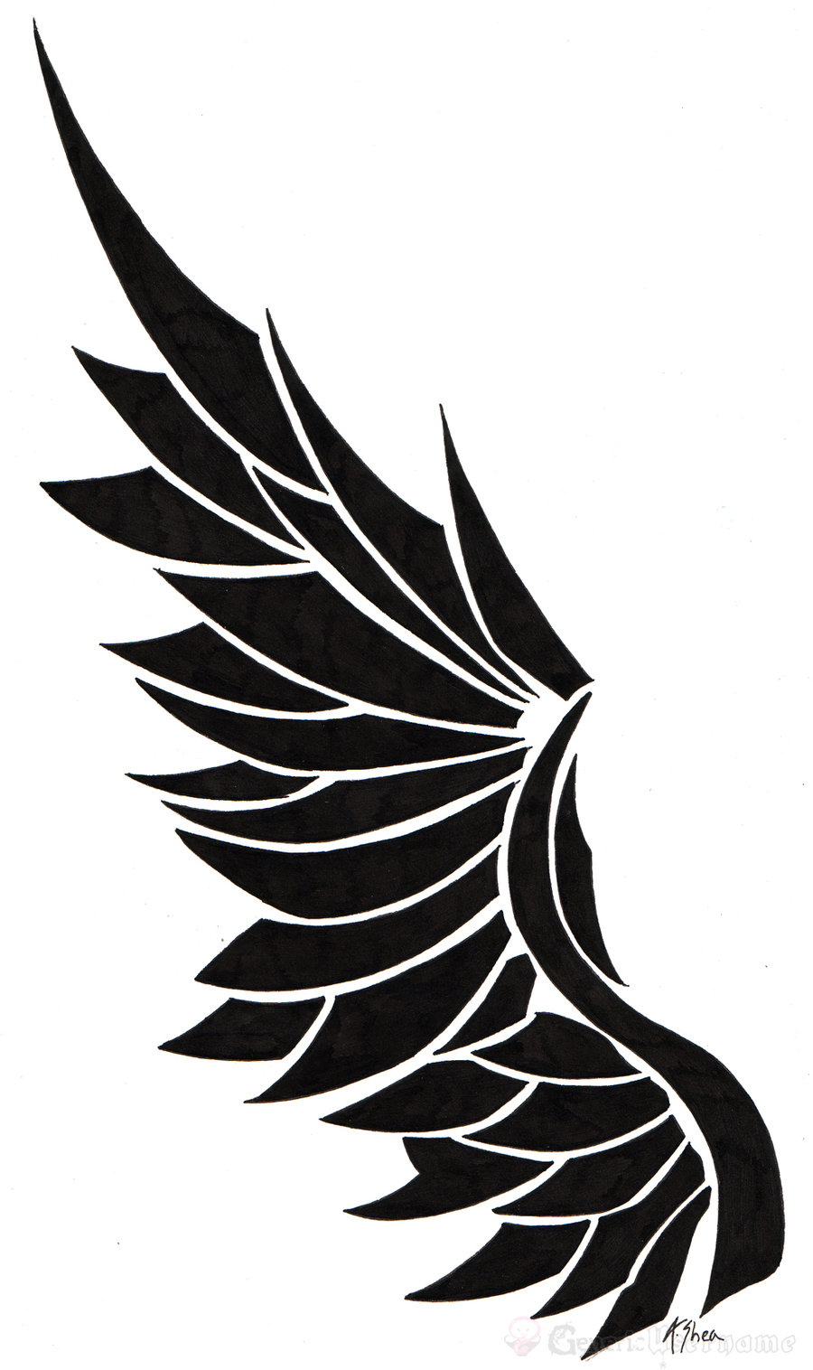 Angel Wing Logo - Cliparts.co