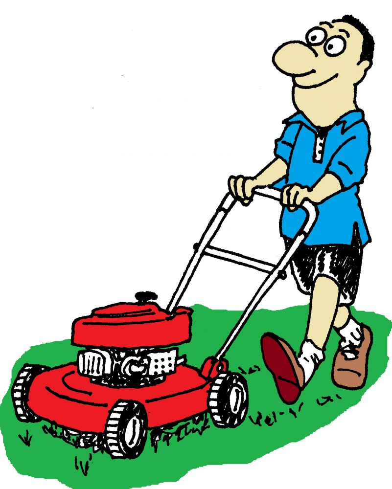 Lawn Mowing Pics - Cliparts.co