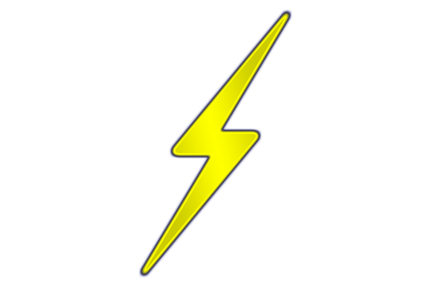 Yellow Lightning Bolt Clipart | Clipart Panda - Free Clipart Images