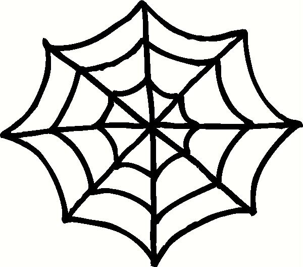 halloween spider web coloring pages - photo#28