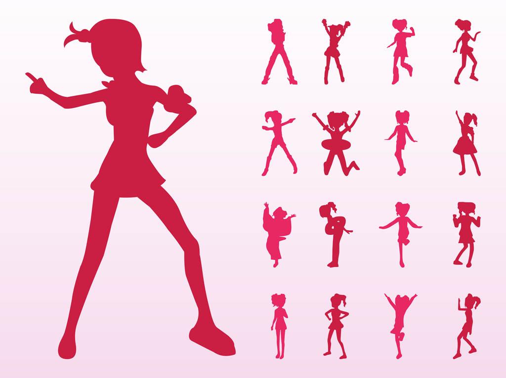 female karate clipart