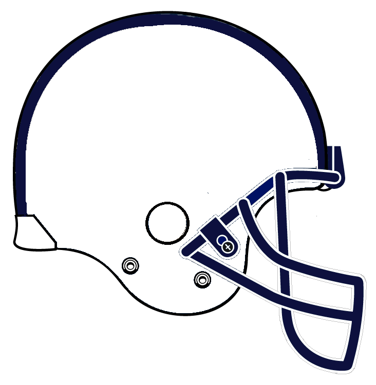 Football Helmet Clipart Black And White | Clipart Panda - Free ...
