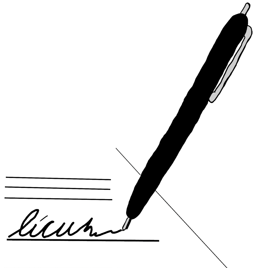 Paper And Pen Clipart