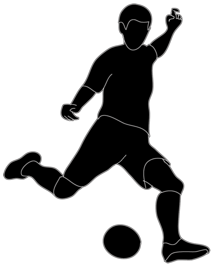 Football Silhouette Clip Art - Cliparts.co