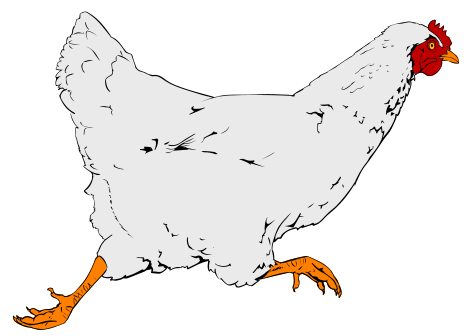 File:Chicken clipart 01.svg - Wikimedia Commons