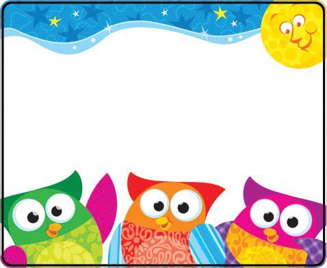 Owl Border Cliparts Co