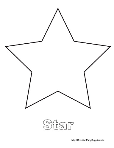 how to draw a smal outlined star