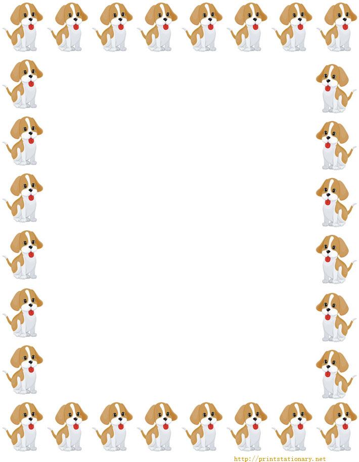 Dog Borders Cliparts Co