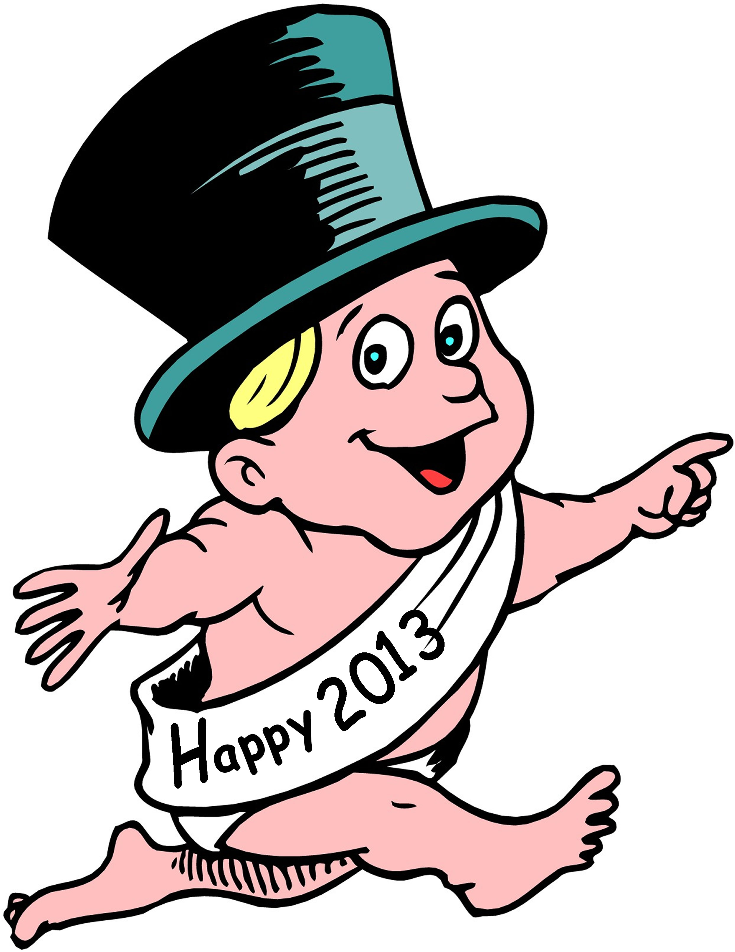 New Years Day Clip Art - Cliparts.co