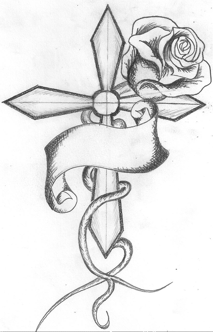 Drawings Of Roses Cliparts Co
