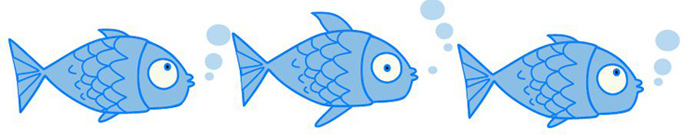 fish swimming in clip art animations n - 700×138