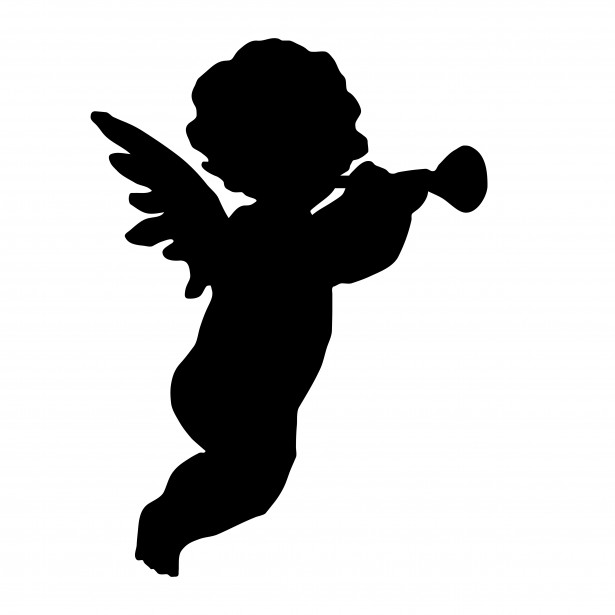 free black angel clipart - photo #47