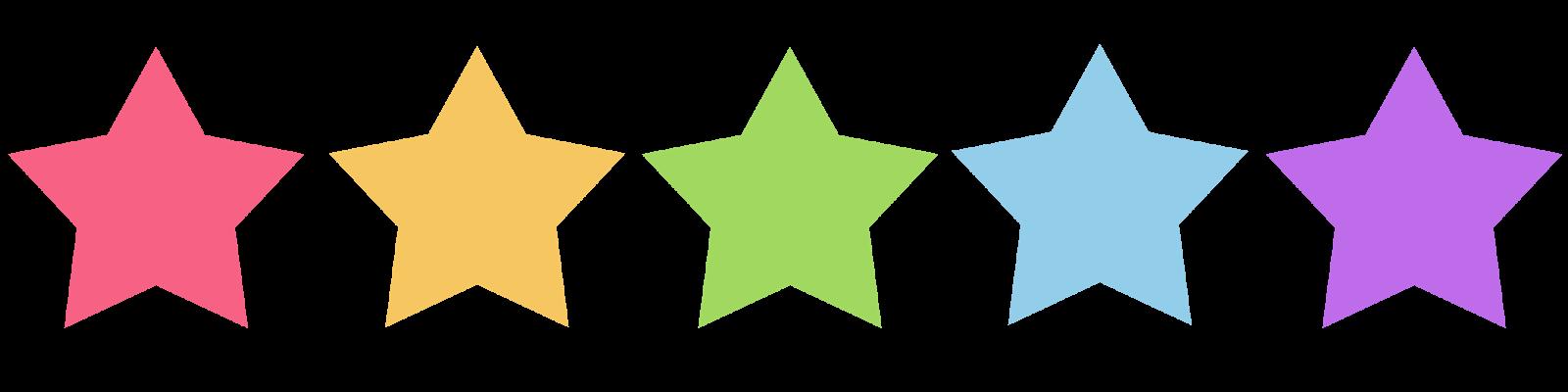Five Stars - Cliparts.co