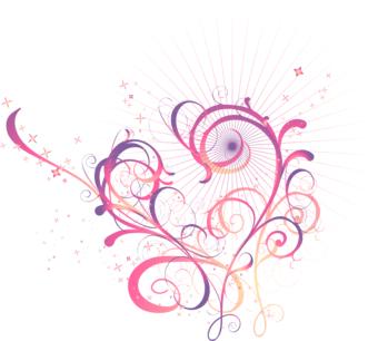 swirl heart clipartsco
