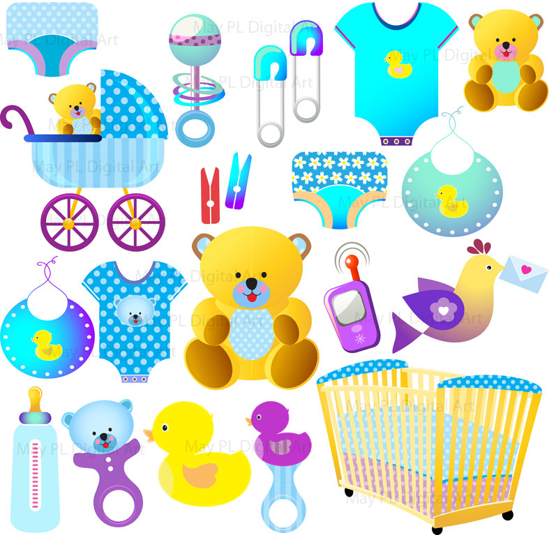baby boy clipart shower - photo #35