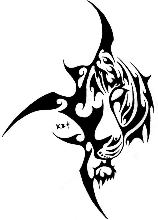 fire tiger tattoo. Black Bedroom Furniture Sets. Home Design Ideas